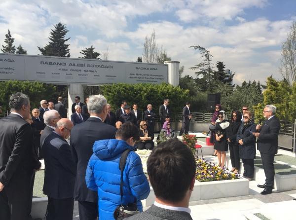 Sakıp Sabancı 13. ölüm yıl Anma töreni10-04-2017